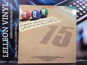 NOW 15 Double Compilation LP Album Vinyl Record NOW15 Pop Rock Soul 80's