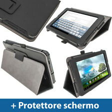 "Nero Custodia Eco-Pelle per Asus MeMo Pad ME172V 7"" Android Tablet 16/32GB"