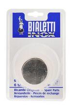 Bialetti Cafetière Italienne Kit 3 joints + filtre Bialetti MOKA INOX 6 Tasses
