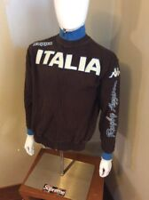 Kappa BANDA Italia Jacket Track sweat shirt Logo Colorblock Top~Mens sz Med
