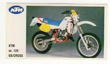 figurina MOTOR SHOW BAGGIOLI 1986 NEW numero 48 KTM GS/CROSS