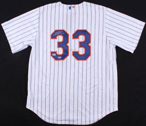 Matt Harvey Signed Mets Authentic Majestic Jersey ( PSA COA ) Former N Y Ace