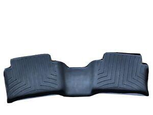 Used WeatherTech FloorLiner Mats Lincoln MKX/Nautilus 2016-2021 2nd Row Black