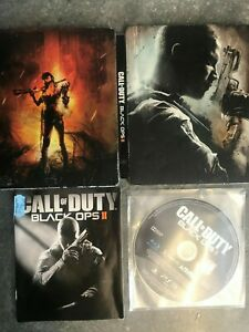 CALL OF DUTY BLACK OPS II Steel Case For The Playstation 3  1st Class Post #120