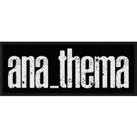 Anathema Logo Patch Official Metal Rock Band Merch