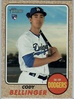 Cody Bellinger 2017 Topps Heritage Rookie #678. MINT