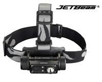 New Jetbeam HR30 USB Luminus SST40 N5 950Lumens LED Headlight ( NO Battery )