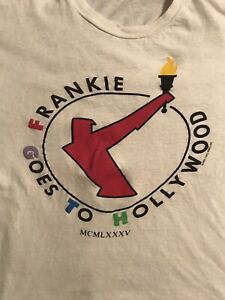 Frankie Goes To Hollywood Welcome To The Pleasure Dome Vintage Tour Shirt 1985