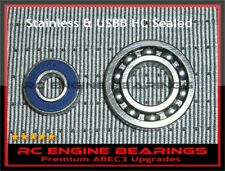 OS 55 AX SX50 OS46 AX OS 46SF FSR 50 RC Engine BEARINGS Premium STAINLESS /HC