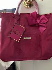Juicy Couture Pink Velvet Convertib