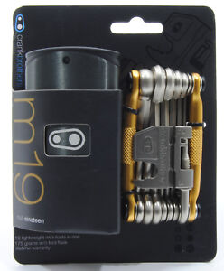 Crank Brothers M19 Bicycle Multi-Tool and Flask - Gold