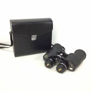 Zenith Tempest Coated Optics Binoculars 7 x 500mm w/ Black Case Japan #924