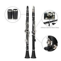 New Glarry Bb Professional Clarinet w/ Case Reeds & Accessories