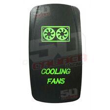 Green 2 Way Rocker Switch On/Off Rocker Switch Cooling Fan Razor Ford F150 Honda