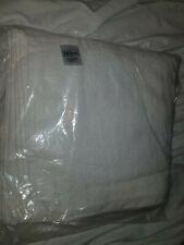 "12 New Hilton Face Towel Washcloths 13"" x 13"" Brand New 1 Dozen White"