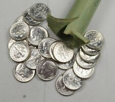 1958-1964 Unc Bu Ms Roosevelt Dime $5 Face 90% Silver Roll (50) Bulk Available