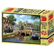 Down By The River Kevin Walsh Nostalgia Collection Super 3D Puzzles 500 Pieces