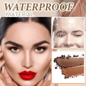 New Eyebrow Stamp Set Perfect Waterproof Definer Brow Powder Eyebrow