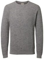 Selected Homme Mens Vince Bubble Knit Regular Cotton Jumper Crew Neck Sweater