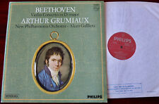 PHILIPS SAL3616 BEETHOVEN VIOLIN CONC LP GRUMIAUX EX++ (1972) ENGLAND