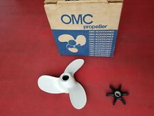"""3 & 4 Hp Johnson Evinrude 315858 Propeller 8 x 5-1/2"""" with Impeller 277181  NEW"""