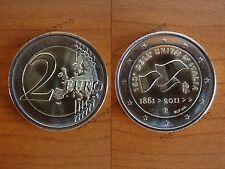 Moneta 2 Euro commemorativa 150esimo anniversario Unità d'Italia