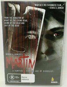 Martin DVD George A. Romero Movie 1977 Vampire Horror Rare - ALL REGIONS