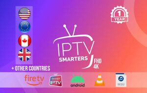 IP.TV 1 year subscription (STB ✔️ FireStick✔️M3U✔️SMART TV✔️ANDROID✔️MAG✔️4K)