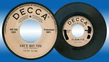 US Pressing PATSY CLINE You Belong To Me 45 rpm PROMO Record