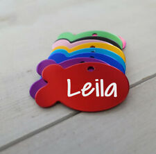Cat Id Tag for Cat Collar Accessories Personalized Pet Id Tag Customized Cat Tag