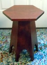 Antique Arts & Crafts TABOURET TABLE Bench Moroccan Gothic