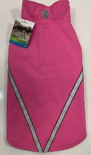 New listing Rc Pet Products West Coast Rainwear Raincoat Fleece Lined Size 18 Pink Nwt