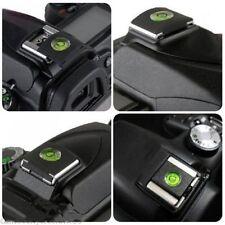2Pcs Hot Shoe Protector Cap Camera Cover Flash Bubble Spirit Level For SLR DSLR
