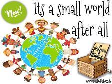 It's a small world Spieluhr Musicbox Neu Fanartikel
