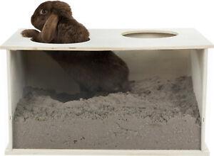 Trixie Buddelkiste Holz Versteck Kaninchen Nager beschäftigung Innenhaltung