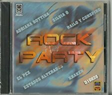 Rock Party Bottina Silvia O El Pez Kraken Bailo Y Conspiro Latin Music CD
