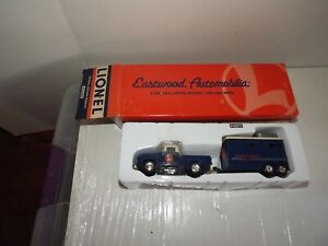 """LIONEL EASTWOOD AUTOMOBILIA #404000 """"IRON HORSE RANCH TRUCK AND TRAILER"""""""