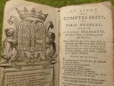 Barrême, Le Livre des Comptes Faits ou Tarif Général