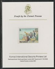 808602 Tuvalu 1979 CAPTAIN COOK  on FORMAT INT PROOF CARD