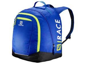SALOMON MEN'S LADIES JUNIOR ORIGINAL BOOT GEAR BACKPACK BAG NEON RACE BLUE