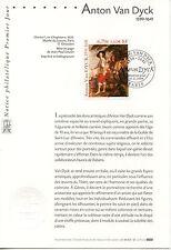 FDC / PREMIER JOUR / ART / TABLEAU / ANTON VAN DYCK PARIS 1999
