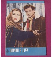 Silvana Mangano UOMINI E LUPI Japan Movie Theater Program 1957