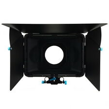 DP3000 M2 Matte Box Sunshade For 15mm Rod Rail DSLR Rig w/ Filter Tray US Ship
