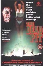 THE DEAD PIT VIDEO VHS RARE CULT HORROR