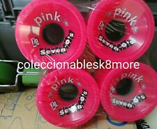 New Abec 11 Pink Seven Os 70mm Pink 78A Longboard Wheels Free Shipping