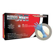 Microflex NO-123S Nitron One Powder Nitrile Gloves - Small, 10 Boxes
