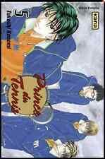 Manga Prince du Tennis tome 5 Shonen Takeshi Konomi Kana Tie Break Roland Garros