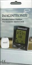 Wireless Indoor Outdoor Thermometer Alarm Clock