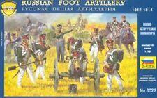 Zvezda 8022 - Russian Foot Artillery 1812-1814              1:72 Plastic Figures