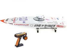 DT G26I P1 50Km/h Fiber Glass White 26CC Gas RC Race Speed Boat ARTR W/ Servos